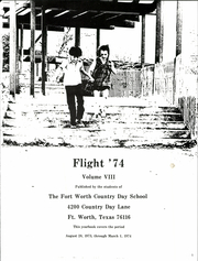 Page 7, 1974 Edition, Fort Worth Country Day School - Flight Yearbook (Fort Worth, TX) online yearbook collection