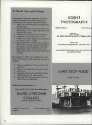 Lubbock Christian University - El Explorador Yearbook (Lubbock, TX) online yearbook collection, 1972 Edition, Page 218