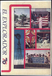 1976 Edition, Lubbock Christian University - El Explorador Yearbook (Lubbock, TX)