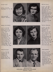 Page 14, 1954 Edition, Trent High School - Gorilla Yearbook (Trent, TX) online yearbook collection