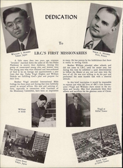 Page 12, 1950 Edition, International Bible College - Torchbearer Yearbook (San Antonio, TX) online yearbook collection