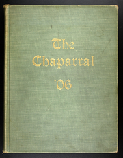 1906 Edition, Texas Womens University - Chapparal Yearbook (Denton, TX)