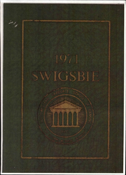 1971 Edition, Southwestern Graduate School of Banking - Yearbook (Dallas, TX)