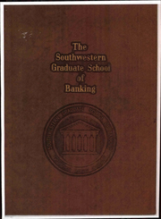 1972 Edition, Southwestern Graduate School of Banking - Yearbook (Dallas, TX)