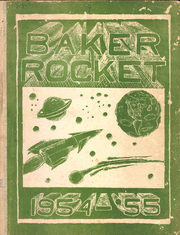 1955 Edition, Baker Junior High School - Rocket Yearbook (Austin, TX)