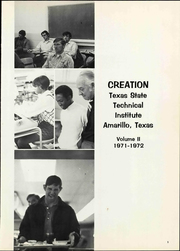 Page 3, 1972 Edition, Texas State Technical Institute - Creation Yearbook (Amarillo, TX) online yearbook collection