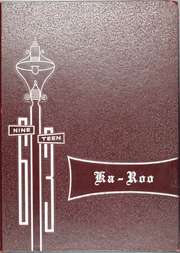 Page 1, 1963 Edition, Rancier Middle School - Ka Roo Yearbook (Killeen, TX) online yearbook collection