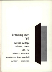 Page 7, 1967 Edition, Odessa College - Branding Iron Yearbook (Odessa, TX) online yearbook collection