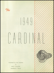 Page 7, 1949 Edition, Price College - Cardinal Yearbook (Amarillo, TX) online yearbook collection