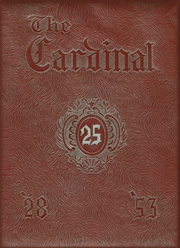 1953 Edition, Price College - Cardinal Yearbook (Amarillo, TX)
