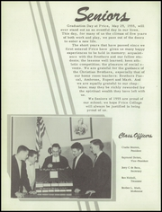 Page 16, 1955 Edition, Price College - Cardinal Yearbook (Amarillo, TX) online yearbook collection