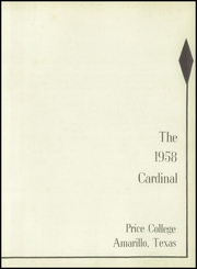 Page 7, 1958 Edition, Price College - Cardinal Yearbook (Amarillo, TX) online yearbook collection