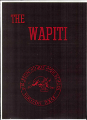 Page 3, 1964 Edition, Burleson Junior High School - Wapiti Yearbook (Burleson, TX) online yearbook collection