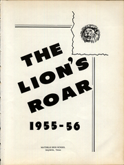 Page 5, 1956 Edition, Maydelle High School - Lions Roar Yearbook (Maydelle, TX) online yearbook collection