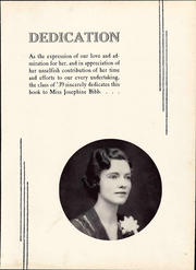Page 11, 1939 Edition, Bedford High School - Peaks Yearbook (Bedford, VA) online yearbook collection