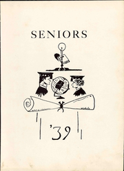 Page 15, 1939 Edition, Bedford High School - Peaks Yearbook (Bedford, VA) online yearbook collection