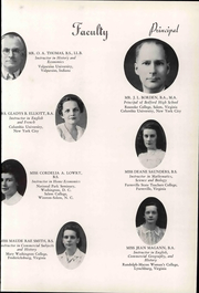 Page 15, 1940 Edition, Bedford High School - Peaks Yearbook (Bedford, VA) online yearbook collection