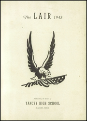 Page 3, 1943 Edition, Yancey High School - Tiger Yearbook (Yancey, TX) online yearbook collection