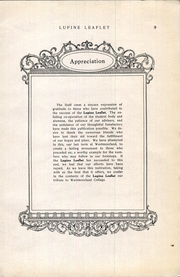 Page 11, 1923 Edition, Westmoorland College - Lupine Leaflet Yearbook (San Antonio, TX) online yearbook collection