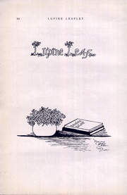 Page 12, 1923 Edition, Westmoorland College - Lupine Leaflet Yearbook (San Antonio, TX) online yearbook collection