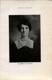 Page 9, 1923 Edition, Westmoorland College - Lupine Leaflet Yearbook (San Antonio, TX) online yearbook collection
