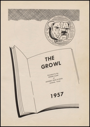 Page 5, 1957 Edition, Amherst High School - Growl Yearbook (Amherst, TX) online yearbook collection