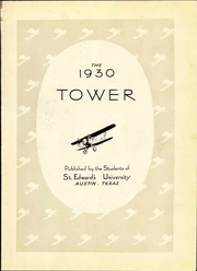 Page 5, 1930 Edition, St Edwards University - Tower Yearbook (Austin, TX) online yearbook collection