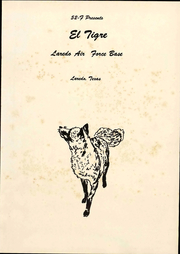 Page 7, 1952 Edition, Laredo Air Force Base - El Tigre Yearbook (Laredo, TX) online yearbook collection