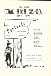 Page 11, 1951 Edition, Como High School - Tiger Yearbook (Como, TX) online yearbook collection