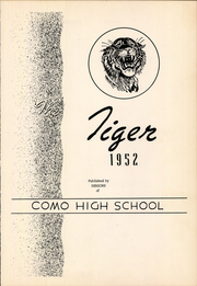 Page 7, 1952 Edition, Como High School - Tiger Yearbook (Como, TX) online yearbook collection
