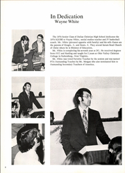 Page 6, 1974 Edition, Dallas Christian School - Squire Yearbook (Mesquite, TX) online yearbook collection