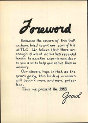 Page 6, 1948 Edition, Texas Lutheran University - Growl Yearbook (Seguin, TX) online yearbook collection