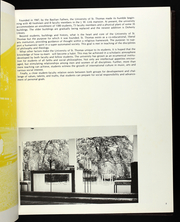 Page 9, 1972 Edition, University of St Thomas - Summa Yearbook (Houston, TX) online yearbook collection