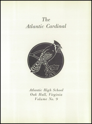 Page 5, 1959 Edition, Atlantic High School - Beacon Yearbook (Oak Hall, VA) online yearbook collection