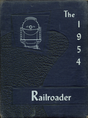 1954 Edition, Crewe High School - Railroader Yearbook (Crewe, VA)