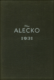 1931 Edition, Alexandria High School - Alecko Yearbook (Alexandria, VA)