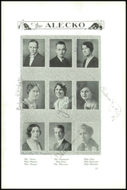 Page 16, 1931 Edition, Alexandria High School - Alecko Yearbook (Alexandria, VA) online yearbook collection
