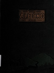 Alexandria High School - Alecko Yearbook (Alexandria, VA) online yearbook collection, 1935 Edition, Page 1