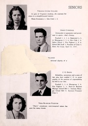 Page 11, 1945 Edition, Big Stone Gap High School - School Bell Yearbook (Big Stone Gap, VA) online yearbook collection
