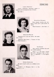 Page 13, 1945 Edition, Big Stone Gap High School - School Bell Yearbook (Big Stone Gap, VA) online yearbook collection