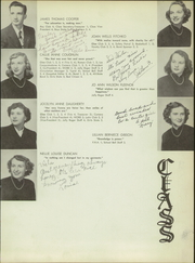 Page 13, 1951 Edition, Big Stone Gap High School - School Bell Yearbook (Big Stone Gap, VA) online yearbook collection