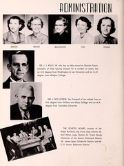 Page 10, 1954 Edition, Big Stone Gap High School - School Bell Yearbook (Big Stone Gap, VA) online yearbook collection