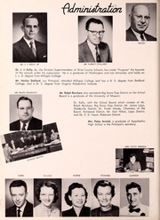 Page 10, 1956 Edition, Big Stone Gap High School - School Bell Yearbook (Big Stone Gap, VA) online yearbook collection
