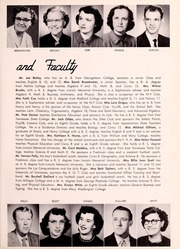 Page 11, 1956 Edition, Big Stone Gap High School - School Bell Yearbook (Big Stone Gap, VA) online yearbook collection