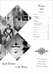 Page 9, 1977 Edition, Ursuline Academy - Traces Yearbook (San Antonio, TX) online yearbook collection