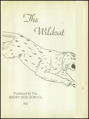 Page 5, 1951 Edition, Emory High School - Wildcat Yearbook (Emory, TX) online yearbook collection