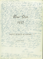Page 5, 1957 Edition, St Marys Academy - Blue Star Yearbook (Austin, TX) online yearbook collection