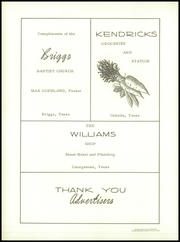 Page 68, 1957 Edition, Briggs High School - Eagle Yearbook (Briggs, TX) online yearbook collection
