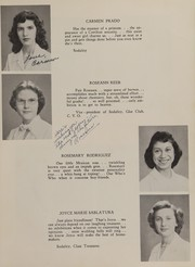 Page 17, 1951 Edition, Incarnate Word Academy - Aurora Yearbook (Corpus Christi, TX) online yearbook collection
