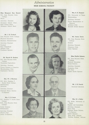 Page 15, 1950 Edition, Corrigan High School - Blue Quill Yearbook (Corrigan, TX) online yearbook collection